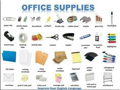 Office Supplies - English Vocabulary