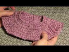 Реглан+полый шнур- это красиво! - YouTube