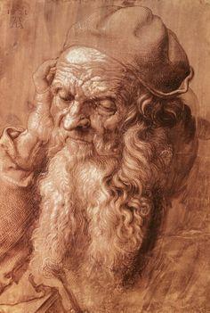 Albrecht Dürer | Portrait of a man, aged ninety-three | Graphische Sammlung Albertina, Vienna