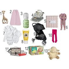 Newborn Must Haves from SammyW