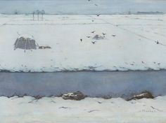 Jan Mankes -Winter landscape 1913 - Museum of Modern Art Arnhem… Winter Landscape, Landscape Art, Landscape Paintings, Winter Painting, Winter Art, Museum Of Fine Arts, Museum Of Modern Art, Kandinsky, The Joy Of Painting