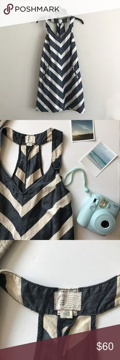 ANTHROPOLOGIE  •  Postmark striped dress Adorable striped dress is so retro and perfect! super cute with sandals or even sneakers ;) perfect with a oversized sweater thrown on with it. Perfect for Summer or Fall! Excellent used condition! Let me know if you need any additional info :) Anthropologie Dresses