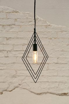 Assembly Home Wyatt Diamond Pendant Light