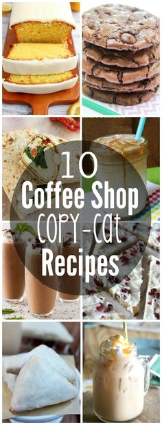 10 Coffee Shop Copy-cat Recipes