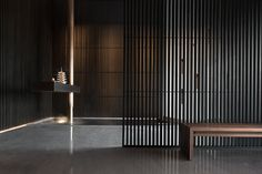 Sui Han San You Restaurant / Jingu Phoenix Space Planning Organization Montreal Architecture, Architecture Design, Best Interior, Interior Design, Acid Etched Glass, Restaurant Pictures, Upscale Restaurants, Wooden Screen, Chinese Landscape
