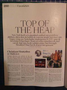 Deel 2 analyse - Magazine Vogue: Maxmimun 4 kolommen gebruikt in dit magazine en 2 rijen. Titels in zijn strak
