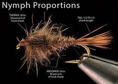 """If you really want to master the art tying flies, and make your flies look """"just like the ones in the fly shop,"""" then try applying these simple tips for consistent proportions. The trout might not appreciate it, but you will."""