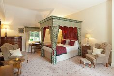 From the croquet lawns, to grand function suites bursting with four poster beds, it feels ...