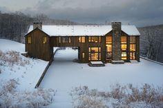 Modern American Farmhouse — Hammerton My dream house 😊👌 Future House, My House, American Farmhouse, Modern Farmhouse, American Barn, Rustic Modern, Cabin Homes, Log Homes, Architecture Design