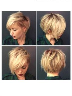 Copper Layered Bob with Bangs - 50 Classy Short Bob Haircuts and Hairstyles with Bangs - The Trending Hairstyle Square Face Short Hair, Haircut For Square Face, Short Straight Hair, Short Hair Cuts, Pixie Cut Square Face, Short Hairstyles Fine, Asymmetrical Hairstyles, Short Bob Haircuts, Hairstyles With Bangs