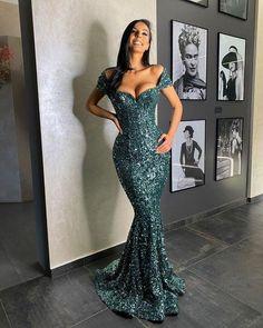 2021 new arrive sequin long Prom Dresses cg14509