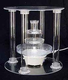 Wedding cake fountain-4 tier