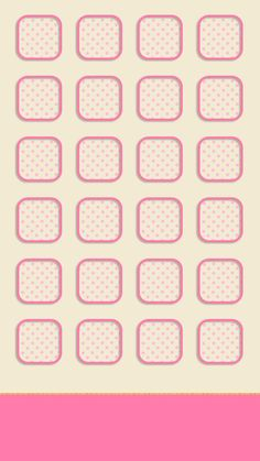 ↑↑TAP AND GET THE FREE APP! Shelves Icons Cute Simple Girly Pink Light For Girls Pretty Polka Dot HD iPhone 6 Wallpaper