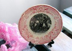 Assiette de collection assiette vintage DIGOIN  par VintageSyell