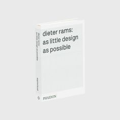Dieter Rams As Littl