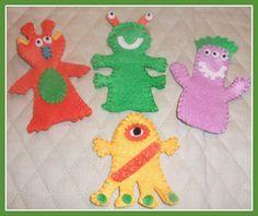 Sacred Heart Children's Hospital - Alien finger puppets
