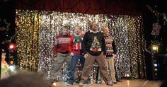 "During an annual Christmas talent show, five dads decided to show their daughters just how ""cool"" they are by having a surprise performance at the end of the night. As the troupe of five middle-aged men wearing tacky Christmas sweaters walked on stage, no one was sure what they had in store. Suddenly, the group... View Article"