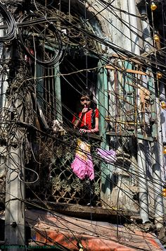 Old Dhaka, Bangladesh...our version of the World Wide Web