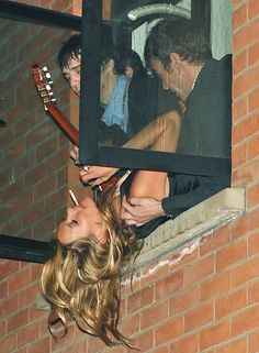 Kate Moss is a groupie