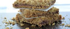 Peanut Butter and Jelly Oatmeal Bars - Real Housemoms