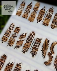 Henna Hand Designs, Mehndi Designs Finger, Mehndi Designs For Fingers, Rose Mehndi Designs, Basic Mehndi Designs, Latest Bridal Mehndi Designs, Stylish Mehndi Designs, Mehndi Designs For Beginners, Mehndi Designs For Girls