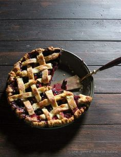 Blueberry-Strawberry Pie | Bloubessie-en-aarbei-pastei