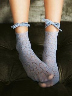 Serenade Wrap Sock   Made from a stretchy fabrication, these socks feature laser…