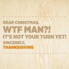 Thanksgiving VS Christmas