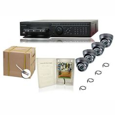 COMPLETE 4 CHANNEL ELITE DVR SECURITY CAMERA SURVEILLANCE SYSTEM WITH BULK CABLE by Security Camera. $923.39. Our Elite Series DVR features embedded Linux OS, remote monitoring from anywhere in the world, audio recording on all channels,H.264 compression, VGA, BNC and HDMI video outputs. This is NOT a PC based DVR which is subject to viruses and hacking. This is a standalone unit built for only one purpose - the best quality video surveillance in the world. Thi...