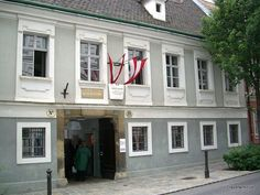 Home of composer Joseph Haydn in Vienna, Austria