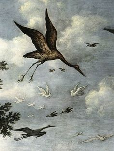 The Paradise (detail), Roelandt Savery, 1618