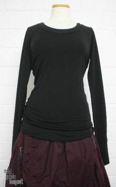 www.modegalerie-bongardt.de - rundholz mode, rundholz black label, Rundholz DIP Rundholz black label winter 2014 sleeved basic-shirt double ...