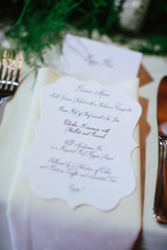Real Wedding - Rori & Justin, Eastman House, reception stationery by Blush Paperie