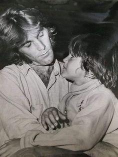 Dennis Wilson of The Beach Boys with his son Scott. Carl Wilson, Dennis Wilson, Mike Love, Surfer Boys, The Beach Boys, Music People, Heartland, Pacific Ocean, Rollers