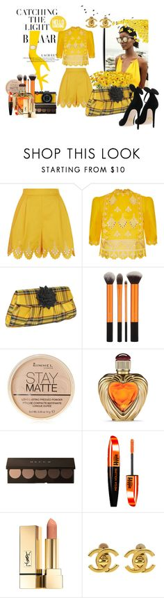 """""""Catching the Sunshine"""" by bettyboopbbw69 ❤ liked on Polyvore featuring Temperley London, Inge Christopher, Rimmel, Victoria's Secret, L'Oréal Paris, Chanel and Oscar Tiye"""