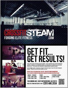 crossfit gym leaflet - Google Search