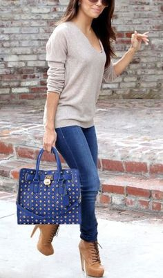Fall Outfits Inspiring Street Style Looks 2015 Mode Outfits, Winter Outfits, Casual Outfits, Fashion Outfits, Womens Fashion, Fashion Trends, Fashion Shoes, Fasion, Black Outfits