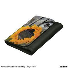 Parisian Sunflower wallet