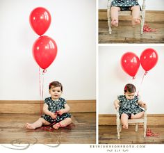 Baby Portraits by Erin Johnson Photography.