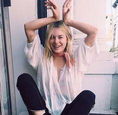 Camille Rowe - MODEL OFF DUTY | @ShopPlanetBlue
