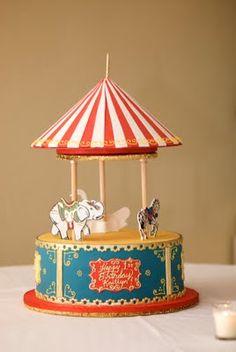 Carnival/circus cake