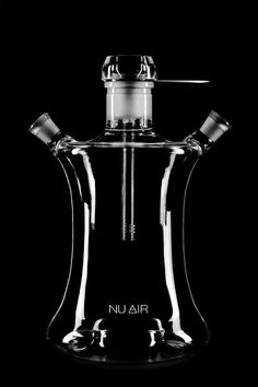 This NU AIR hookah is specially designed so that tobacco can be smoked through a variety of flavor cocktails. Its transparent water base makes smoking not only delicious, but also aesthetically beautiful.