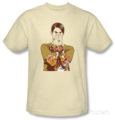 I can't lie... I WANT this! Saturday Night Live - Stefon T-shirts at AllPosters.com
