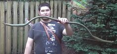 "DIY Project: How to Build Your Own Elven PVC Horse Bow Homesteading - The Homestead Survival .Com ""Please Share This Pin"""