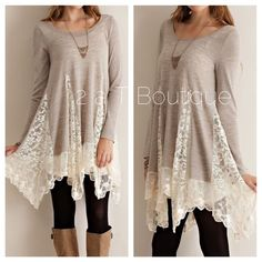 BEST SELLER   Romantic Lace tunic DO NOT buy this listing, comment below to make sure I have your size available and I will make you a personal listing  A solid sweater tunic top featuring bottom lace detailing throughout. Semi- sheer. Long sleeves. Knit. Lightweight. 100%POLYESTER. Available  in size S(2-4) M(6-8) L(10-12). TK1878202.  ❌PRICE FIRM UNLESS BUNDLED ❌ 2 a T Boutique  Tops Tunics