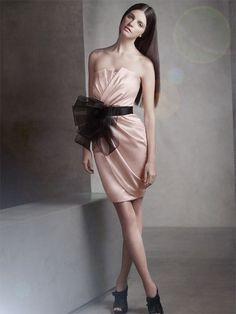 Modern bridesmaids dress