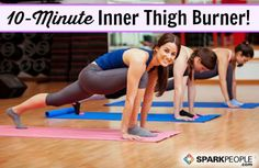 The Best Inner Thigh Exercises Ever   SparkPeople