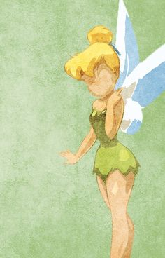 Peter Pan inspired design (Tinkerbell).