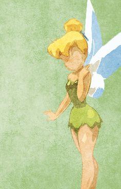 Peter Pan inspired design (Tinkerbell).