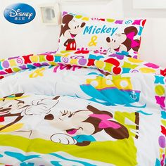 Mickey And Minnie Luxury Disney Bedding Sets